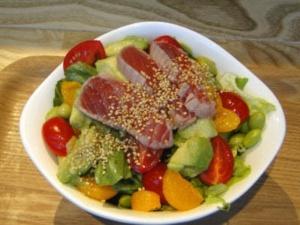 1食で1日分の野菜が採れるサラダで眼精疲労予防