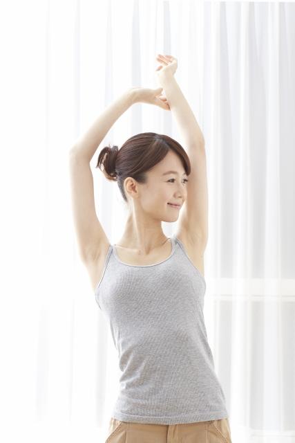 ストレッチで代謝をアップさせて眼精疲労による疲れを改善させよう!