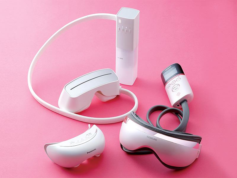 各社から発売中☆アイマスク型の美容機器が大人気!