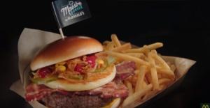 美味しそうなハンバーガーの画像で目のエクササイズを体験しよう!