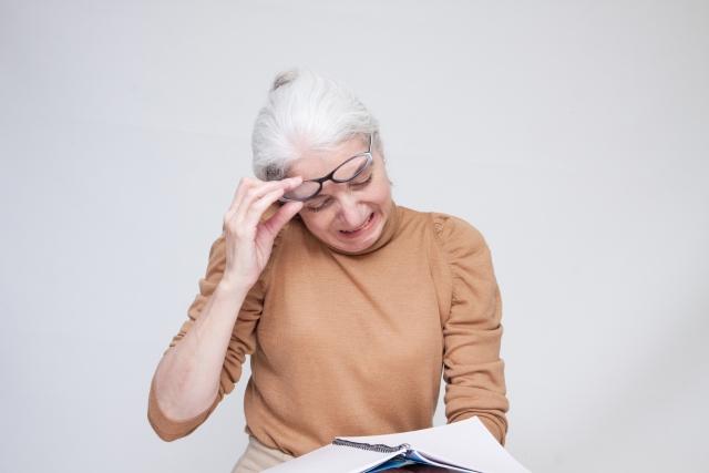 50 歳以上の 97.2%は目になんらかの不調を実感